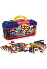 Valigetta Spiderman Colori 55 pezzi Canal Toys SPC224