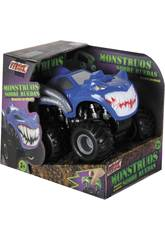 Coche Big Power Monster Car Friccion