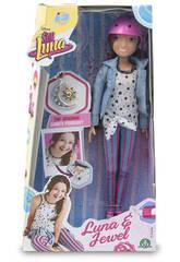 Soy Luna Bambola Fashion Doll con Pattini a Rotelle e Casco Giochi Preziosi YLU33000
