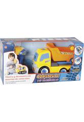 Construisez votre Véhicule Camion Benne 17 x 28 x 13 cm