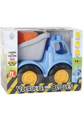 Camión Volquete a Fricción Con Bloques 11 Piezas 26x32x19cm