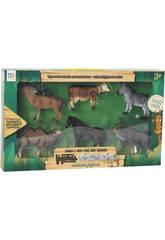 Figure Set Animali 6 unità 9 cm