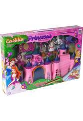 Castillo de Princesas Con Luces Sonidos y Accesorios 24x33x5cm