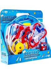 Doktor-Erste-Hilfe-Doktor-Kit mit Zubehör 28.5x31x8.5cm