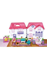 Maison My Happy Family Asortiment avec Accessoires 23 x 46 x 5 cm