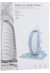 Puzzle 3D Burj Al Arab 33 piezas