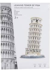 Puzzle 3D La Tour de Pise 31 Pièces 23 x 13.8 x 13.8 cm