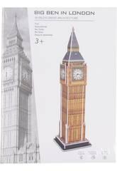 Puzzle 3D Big Ben 31 Pièces 38.5 x 10.2 x 10.2 cm