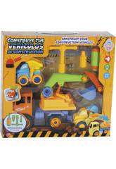 Construisez Vos véhicules de Construction 28 x 17 cm Couleur Orange