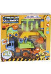 Construisez Vos véhicules de Construction 28 x 17 cm Couleur Bleu