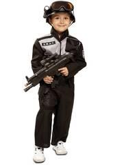Déguisement Bébé Taille L SWAT