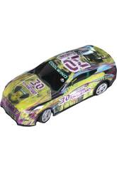 Coche Racing Radio Control The Western Overload Número 30 6x18x8 cm