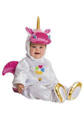 Disfraz Bebé Pelele Unicornio Talla 10 - 12 Meses Nines D'Onil