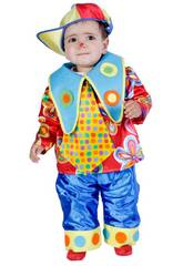 Costume Baby Palhaço Tamanho L Nines D'Onil D9172