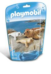 Playmobil Phoque et ses Petits 9069