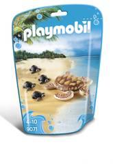 Playmobil Tortue de Mer et ses Petits 9071