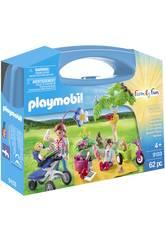 Playmobil Maletín Grande Picnic Familiar 9103