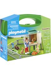 Playmobil Mallette Lapins 9104