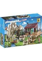 Escaladores Playmobil Com Refúgio 9126