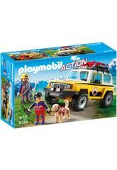 Playmobil Fahrzeug Mountain Rescue 9128