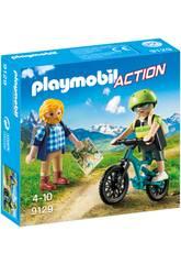 Playmobil Ciclista e Excursionista 9129