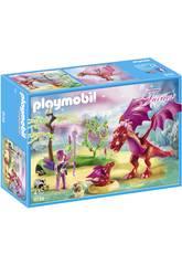 Playmobil Dragón con Bebé 9134