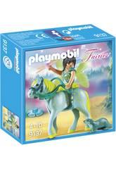Playmobil Hada Con Caballo 9137