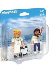 Playmobil DuoPack Hôte et Hôtesse de Croisière 9216