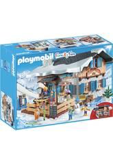 Playmobil Cabaña De Esquí 9280