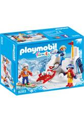 Playmobil Battaglia a palle di neve 9283
