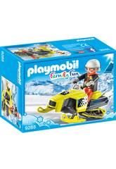 Playmobil Snowmobile 9285