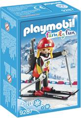 Playmobil Biathlète 9287