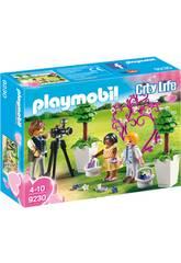 Filhos e Fotógrafo Playmobil 9230