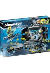 Playmobil Top Agents Centro di comando del Dr.Drone 9250