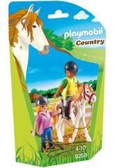 Playmobil Insegnante di Equitazione 9258