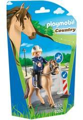 Playmobil Policía Montada 9260