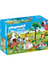 Playmobil City Life Festa in Giardino 9272