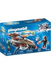 Playmobil Gene et Sykroniano Avec le Bateau 9408