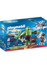 Playmobil Super 4 Orco gigante con Ruby 9409