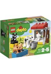 Lego Duplo Animais da Fazenda 10870