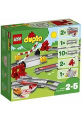 Lego Duplo Voies Ferrées 10882