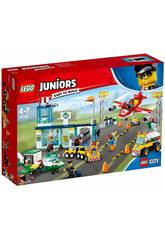 Lego Juniors Grand Aéroport de la Ville 10764