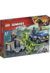 Lego Juniors Camion per il soccorso di Velociraptor 10757