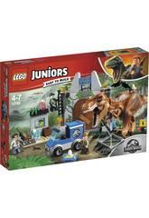 Lego Juniors Fuga del T-Rex 10758