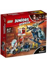 Lego Juniors The Incredibles 2 Chase para os telhados de Elastigirl 10759