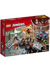 Lego Juniors Les Indestructibles 2 Attaque de la Banque par le Démolisseur 10760