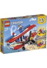 Lego Criador Audacioso Avião Acrobático 31076