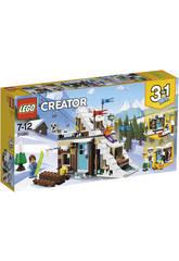 Lego Creator Refuge d'Hiver Modulaire 31080