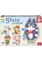 Baby Puzzle Animaletti Educa 16816