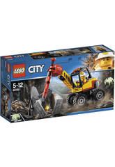 Lego City Mina Martillo Hidráulico 60185